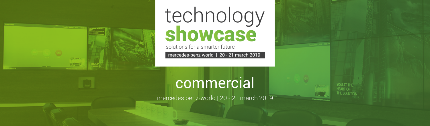 Tech Showcase Header commercial