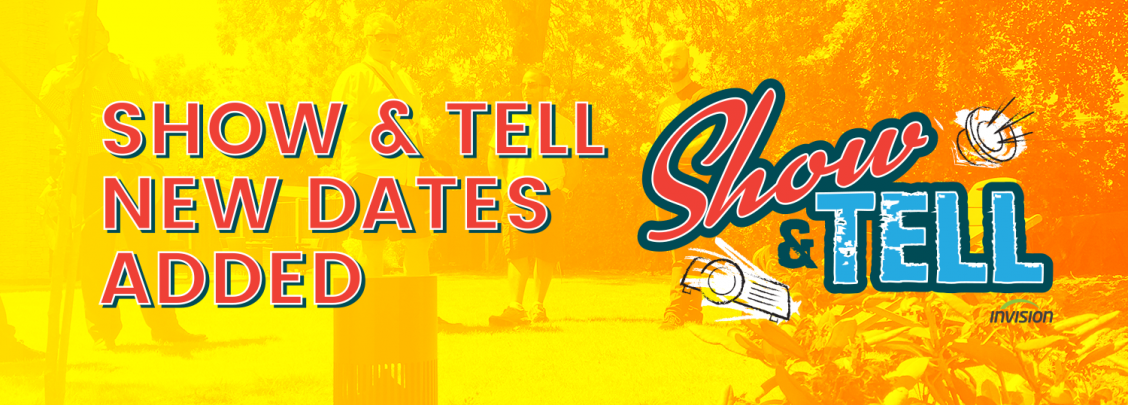 ShowTell New Dates Banner