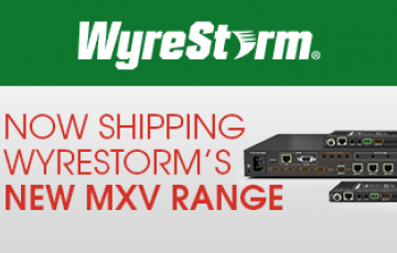 WyreStorm New MXV Range Feature
